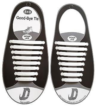 elastische Schnürsenkel – das einfache Schnellschnürsystem für Schuhe –  Ersatzschnürsenkel für Erwachsene und Kinder für verschiedene Schuhe  geeignet ...