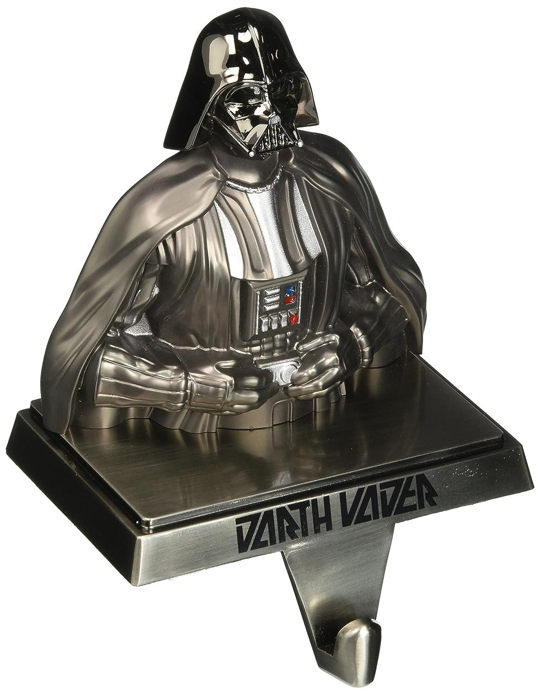 Amazon: Kurt Adler Star Wars Gun Metalplated Darth Vader Stocking  Hanger: Home & Kitchen