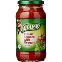 DOLMIO Classic Tomato Pasta Sauce with Oregano, 6 x 500g