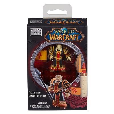 Mega Bloks World of Warcraft Valoren (Horde Blood Elf Priest): Toys & Games