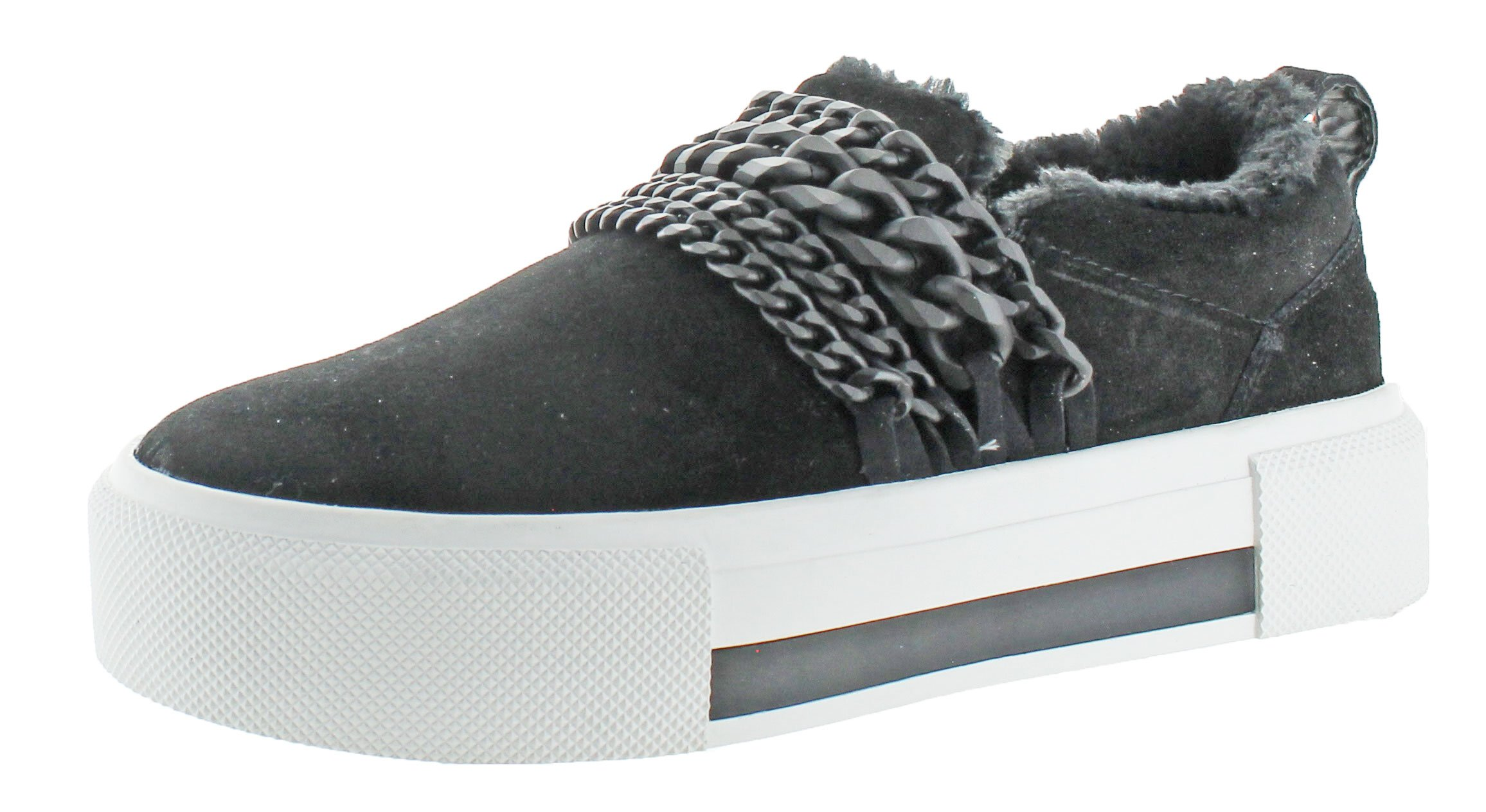KENDALL + KYLIE Women's Tory Black Suede 6.5 M US