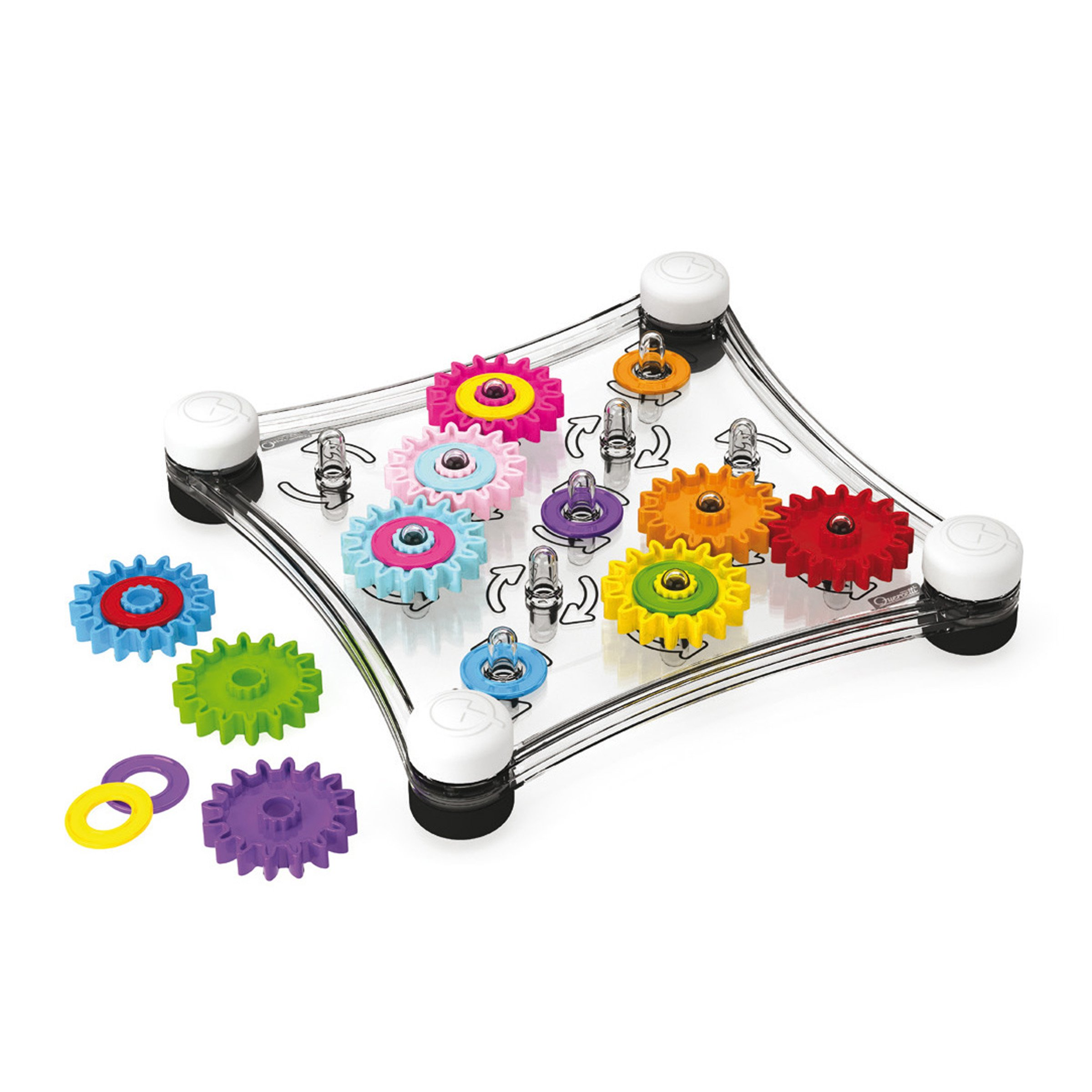 Quercetti Georello Junior - Double Sided Spinning Gear Play Set by Quercetti (Image #4)