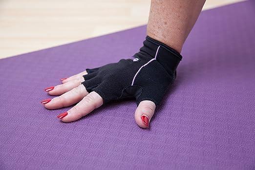 Wrist Assured Gloves Pro Style-Gel Padded Gloves, Workout Gloves with Wrist Support, Yoga Gloves, Pilates Gloves