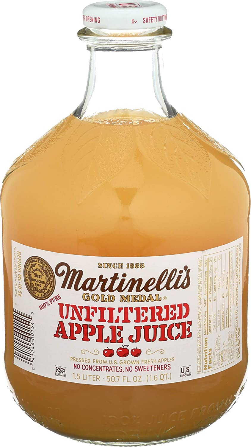 Martinelli's Apple Juice - 100%, 50.70 Fl Oz