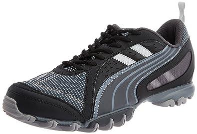 9f9563fd0957 Puma Men s Sienna Black Mesh Sport Running Shoes - 6 UK India (39 EU ...