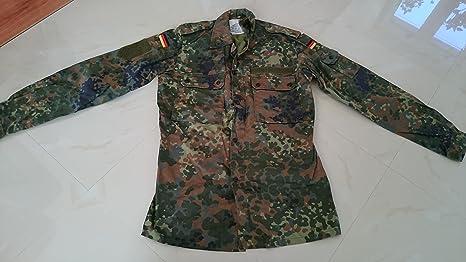 Unbekannt Camisa de camuflaje del ejército alemán: Amazon.es: Deportes y aire libre