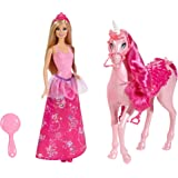 Barbie Princess Doll and Regal Unicorn