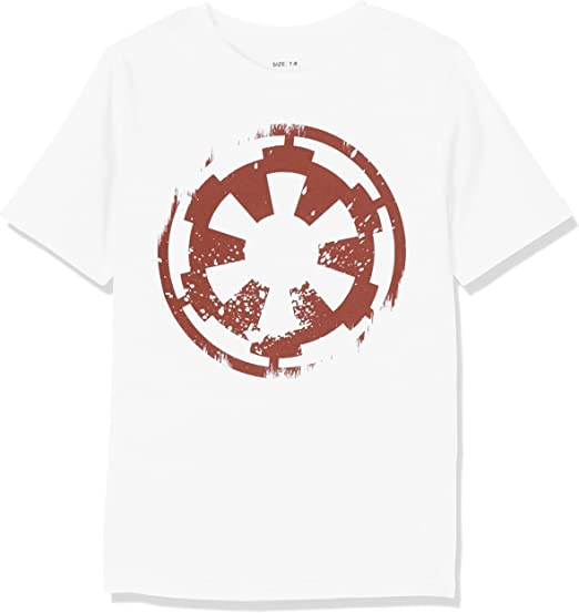 Star Wars Distressed Empire Logo T-Shirt Homme