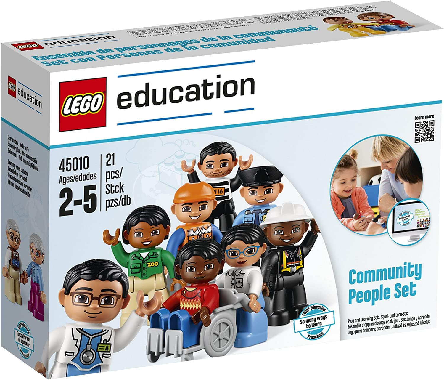 Community People Set for Exploring Roles and Responsibilities by LEGO Education DUPLO