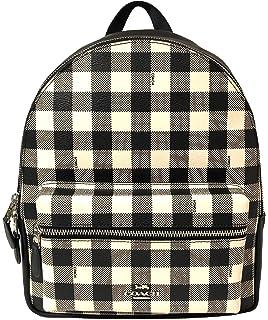 20380f3ade784 Amazon.com  Coach Mini Charlie Pebble Leather Backpack (SV Atlantic ...