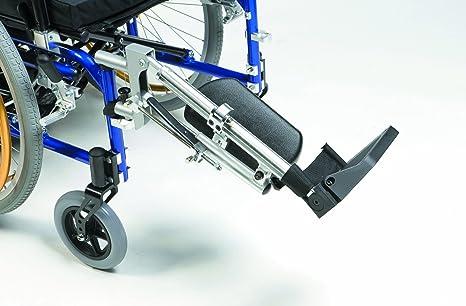 Drive Medical ELR003L Premium - Soporte para pierna y pie (para silla de ruedas,