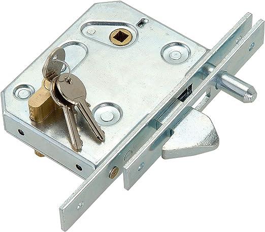 Pestillo de gancho para puerta corredera con cilindro: Amazon.es: Bricolaje y herramientas