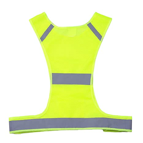 0cefc6c414e0 Amazon.com   IDOU The New Best Reflective Vest Safety Running Gear ...