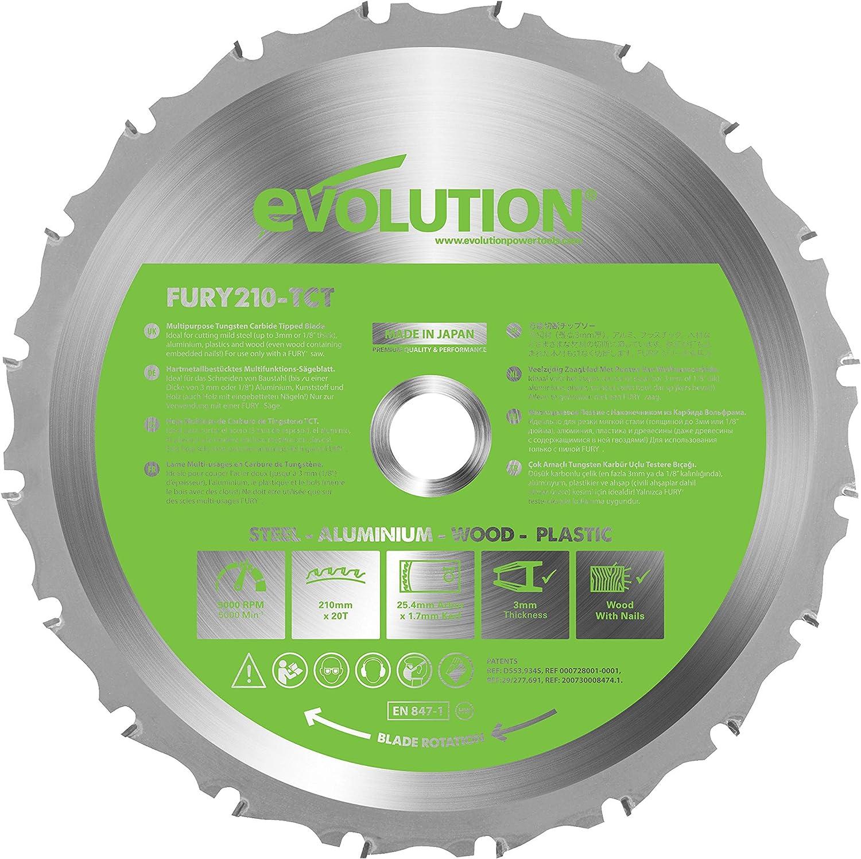 Evolution FURY - Disco multifunción (210 mm)