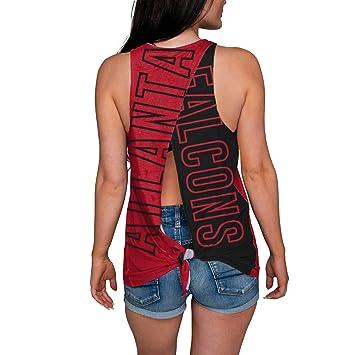 lowest price c7043 37653 FOCO NFL Womens Tie Breaker Sleeveless Fashion Top Shirt
