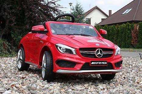 Babycar 450R – Coche eléctrico para niños Mercedes CLA 45 AMG Full Optional con Mando a