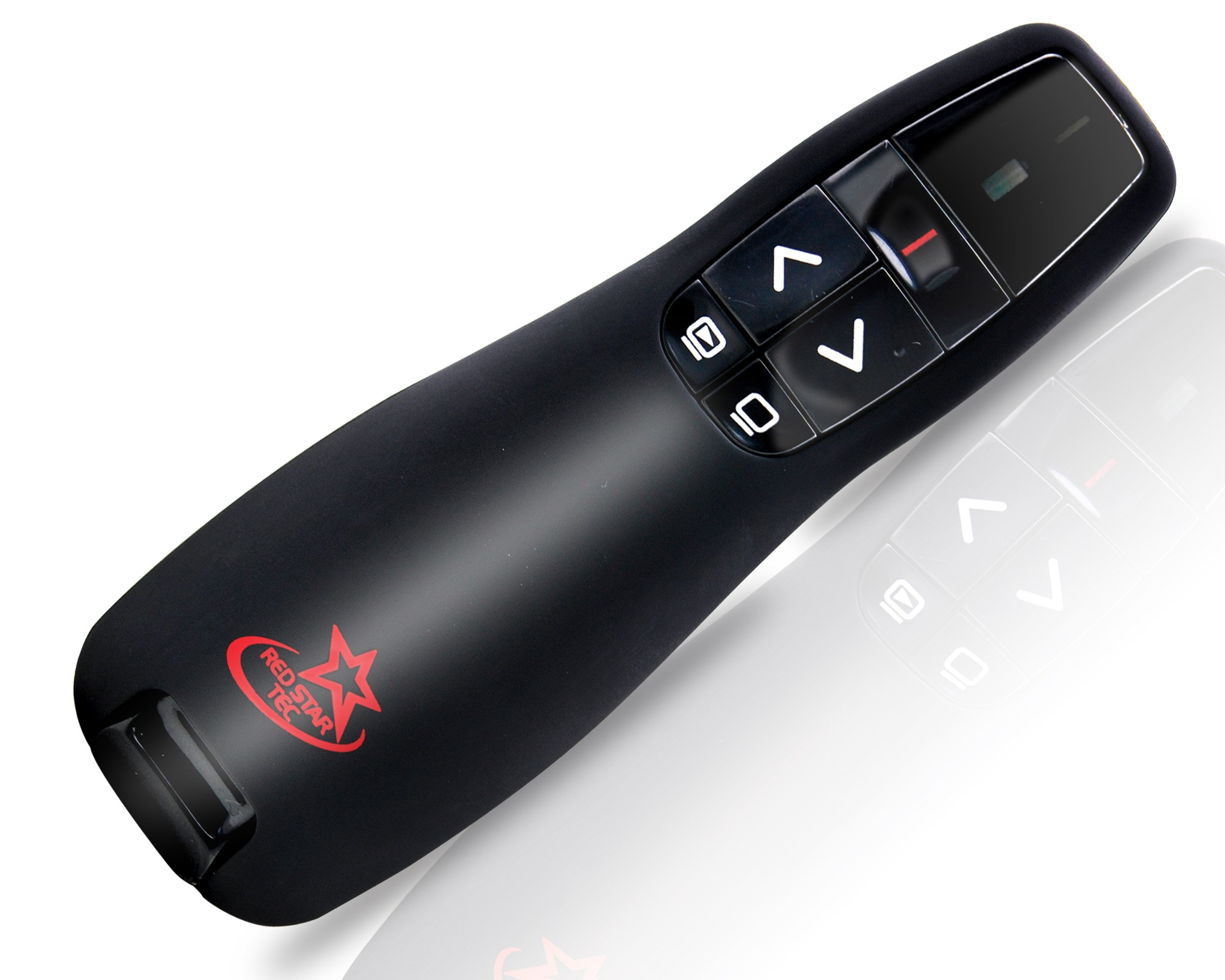 Red Star Tec Wireless Powerpoint and Keynote Presentation Remote Clicker PR-819 (Black, 1 Pack) by RED STAR TEC