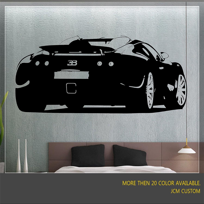 bugatti veyron wall mural art vinyl decal 48 bugatti veyron wall mural art vinyl decal 48