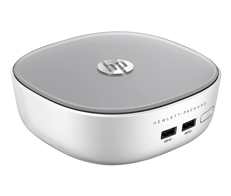 HP Pavilion Mini 300-020ns - Ordenador de sobremesa (Intel Pentium 3558U, 4 GB de RAM, Disco HDD de 500 GB,...