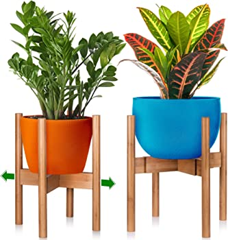 Home & Coziness Mid-Century Modern Indoor Plant Stand