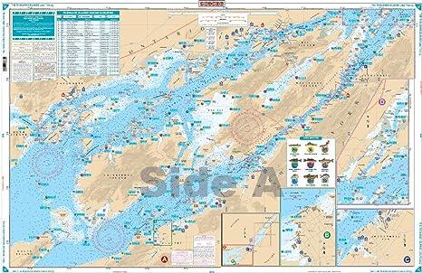 Amazon.com : Waterproof Charts, Lake Fishing, 78F The ...