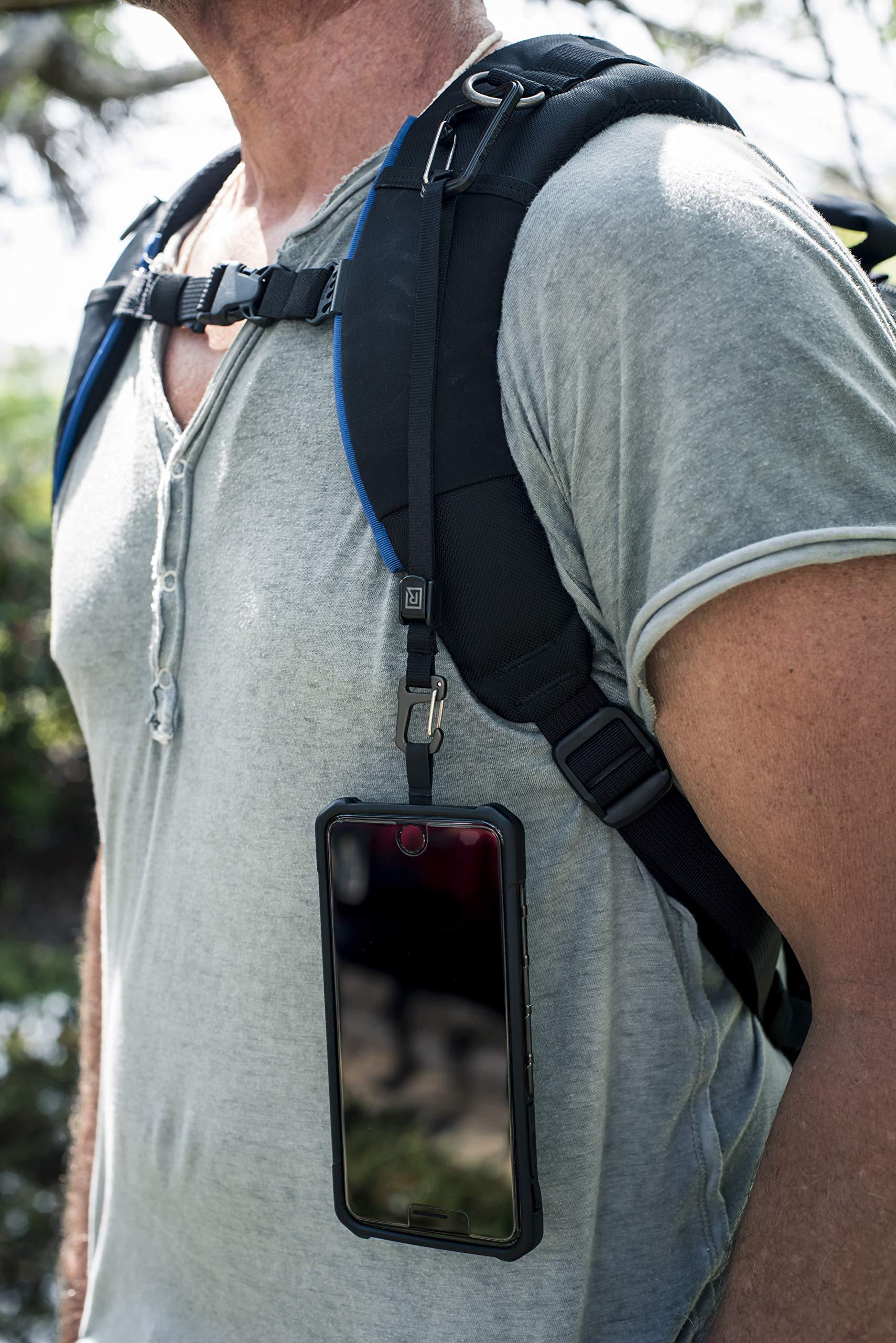 Patented Smartphone Safety Tether System BLACKRAPID Wander Bundle