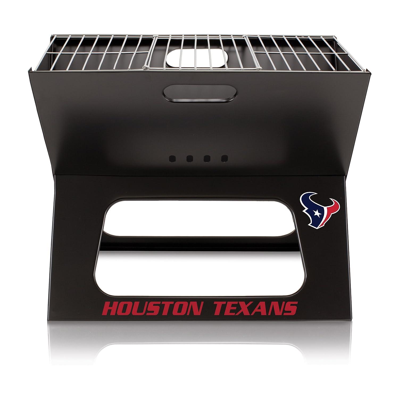 【2019春夏新作】 Picnic Time NFL Houston Texans Portable Collapsible B01EWKIQF4 Collapsible Charcoal X-Grill NFL B01EWKIQF4, コホクチョウ:e0341c5b --- arianechie.dominiotemporario.com