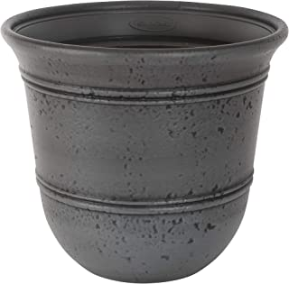 product image for Suncast Gray 1624GP2 Stoneycreek Resin Planter, 2-Pack