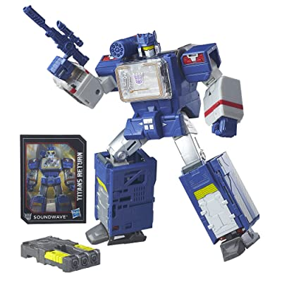Transformers Generations Titans Return Soundwave and Soundblaster: Toys & Games