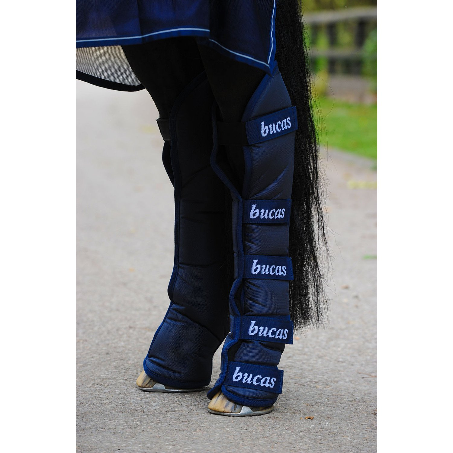 Bucas 2000 Travel Boot Full Size Navy by Bucas