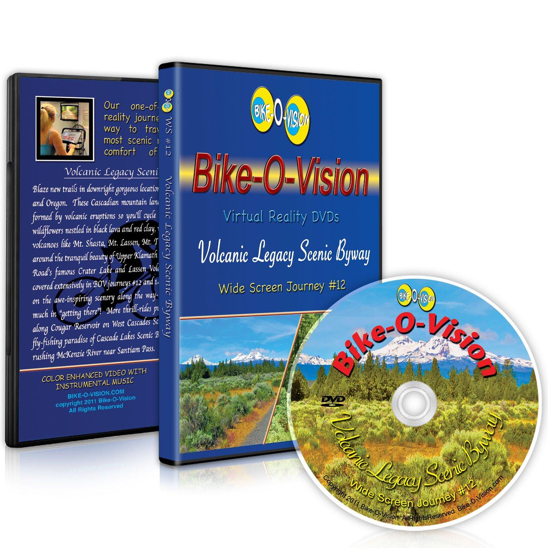 Amazon.com: Bike-O-Vision Cycling Video- Volcanic Legacy ...
