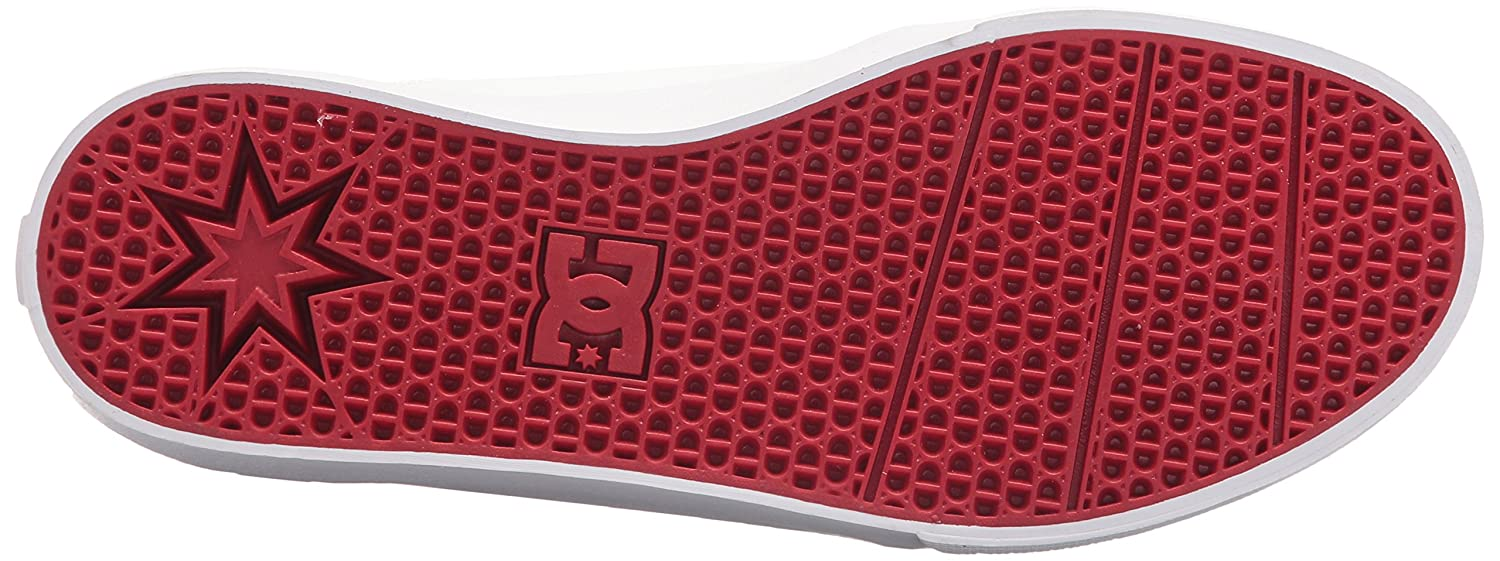 DC Women's Trase V SE Skate Shoe Red B0731YSB96 11 B(M) US|White/White/Athletic Red Shoe 24bbd6