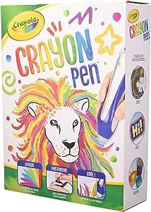 CRAYOLA CC040049 1 Pieza(s) - Ceras (1 Pieza(s), Multicolor, Azul, Plata, De plástico, Cera, Caja): Amazon.es: Juguetes y juegos