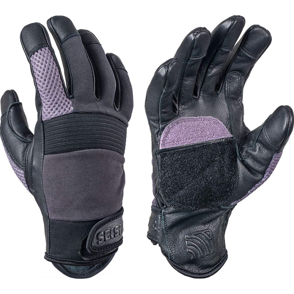 Seismic Freeride Gloves - Black/Purple - XS