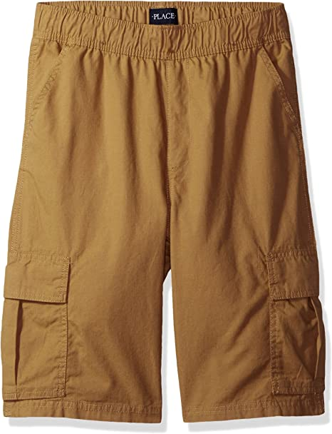 The Childrens Place Boys Pull on Cargo Shorts
