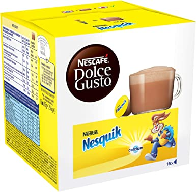 Nescafé Dolce Gusto Dolce Gusto Nesquik 48 Capsulas Lote De 3 X 16 ...