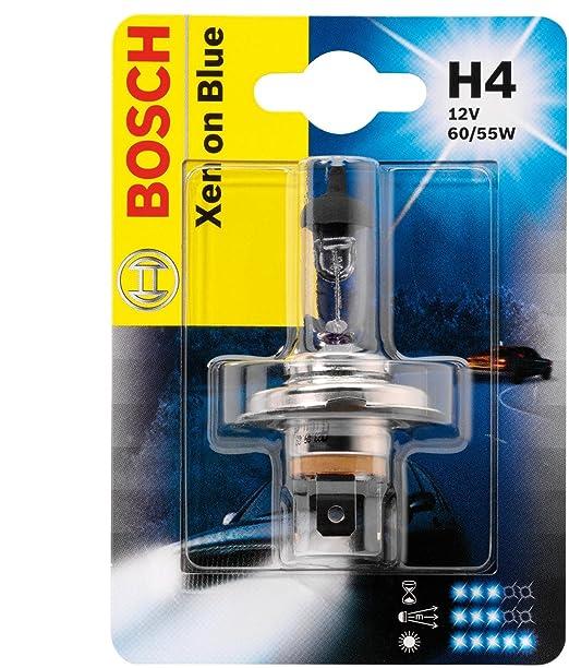 2 opinioni per Bosch 1987301010 Lampadina, H4 Xenon Blue 12V 60/55W