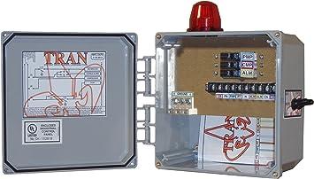 Tran T Aerobic Septic Control Panel 3 Breaker No Timer Amazon Com