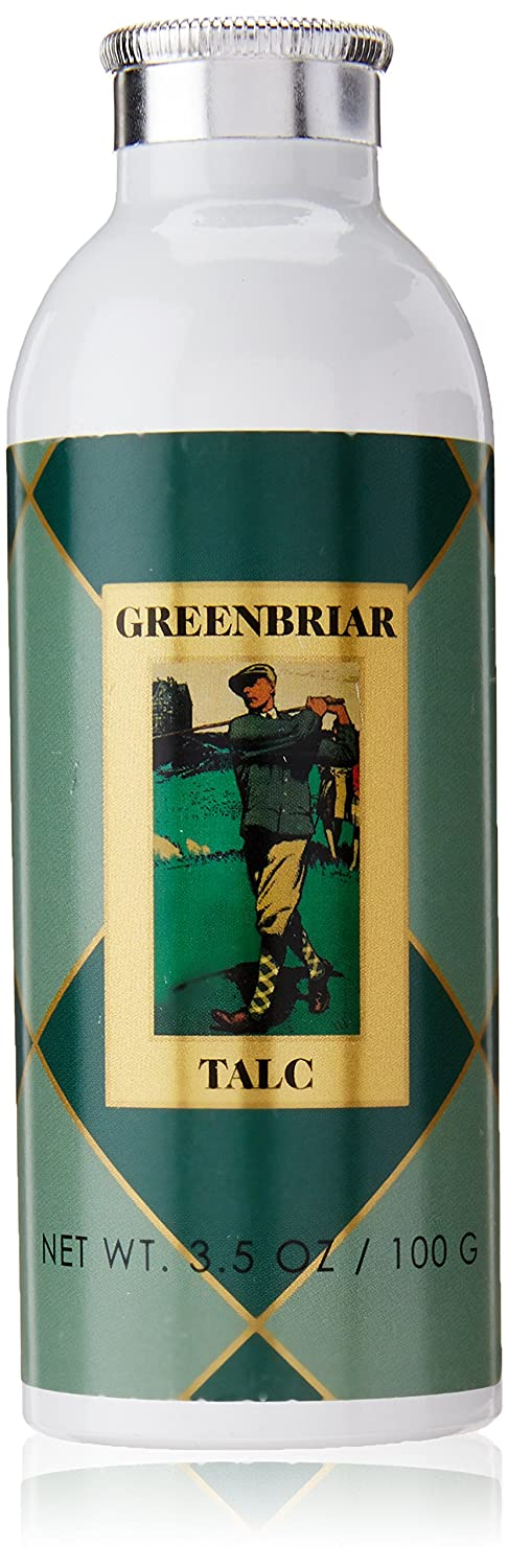 Caswell-Massey Greenbriar Talc, 3.5-Ounce 1 qty