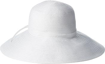 a169147f86fae San Diego Hat Company Women's 5-Inch Brim Sun Hat with Braid Self-Tie