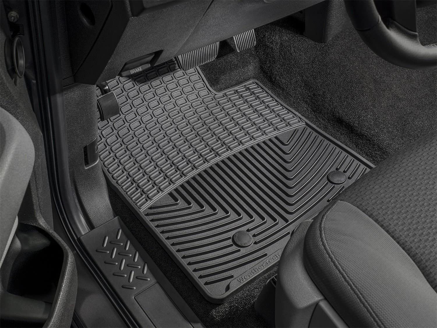 WeatherTech W47-W193 Floor Mat Front//Rear Rubber