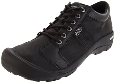 Best Selling KEEN Men's Austin Mens Black KEEN Mens Lace Ups