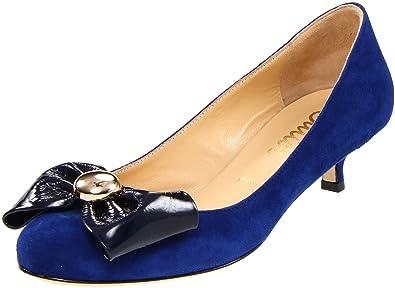 48375632735 Butter Women s Spooner Bow Kitten-Heel Pump