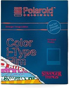 Polaroid Originals - Película de Color para Tipo I (edición Stranger Things)