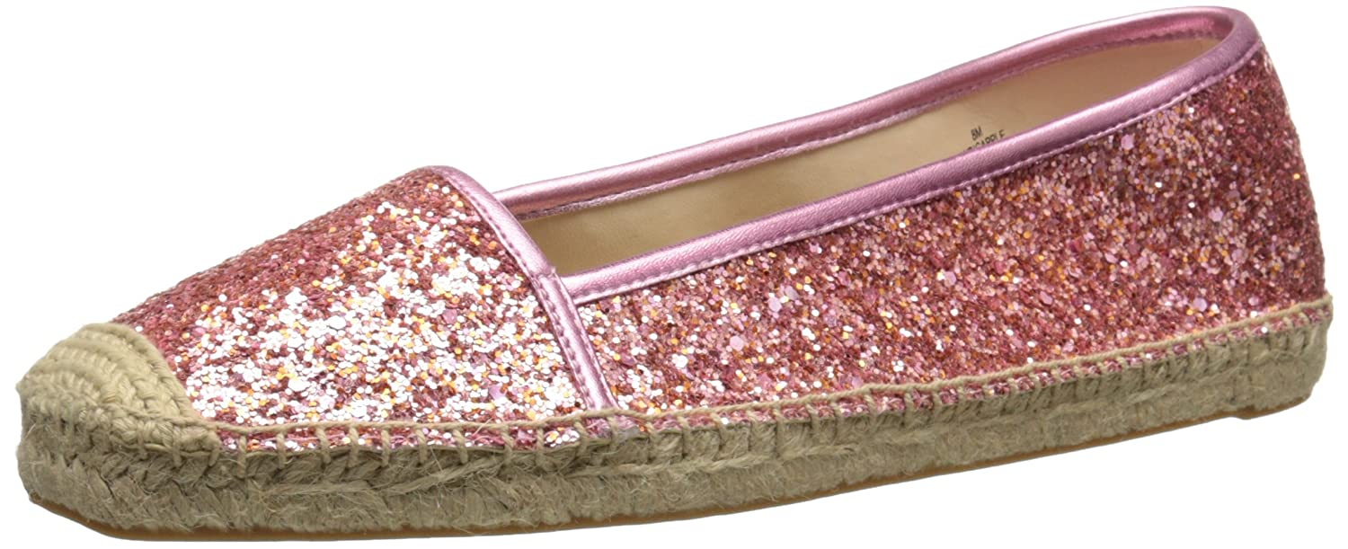 Nine West Women's Bigapple Synthetic Ballet Flat B00U23W06C 11 B(M) US|Pink Orange/Pink Orange