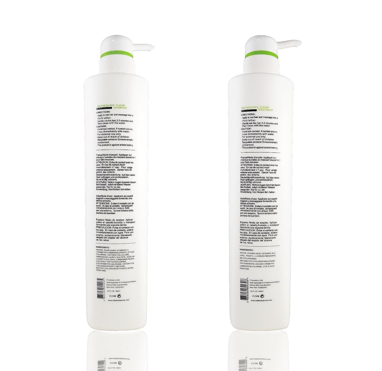 Amazon.com: Ode Sofia limpieza refrescante Champú y ...