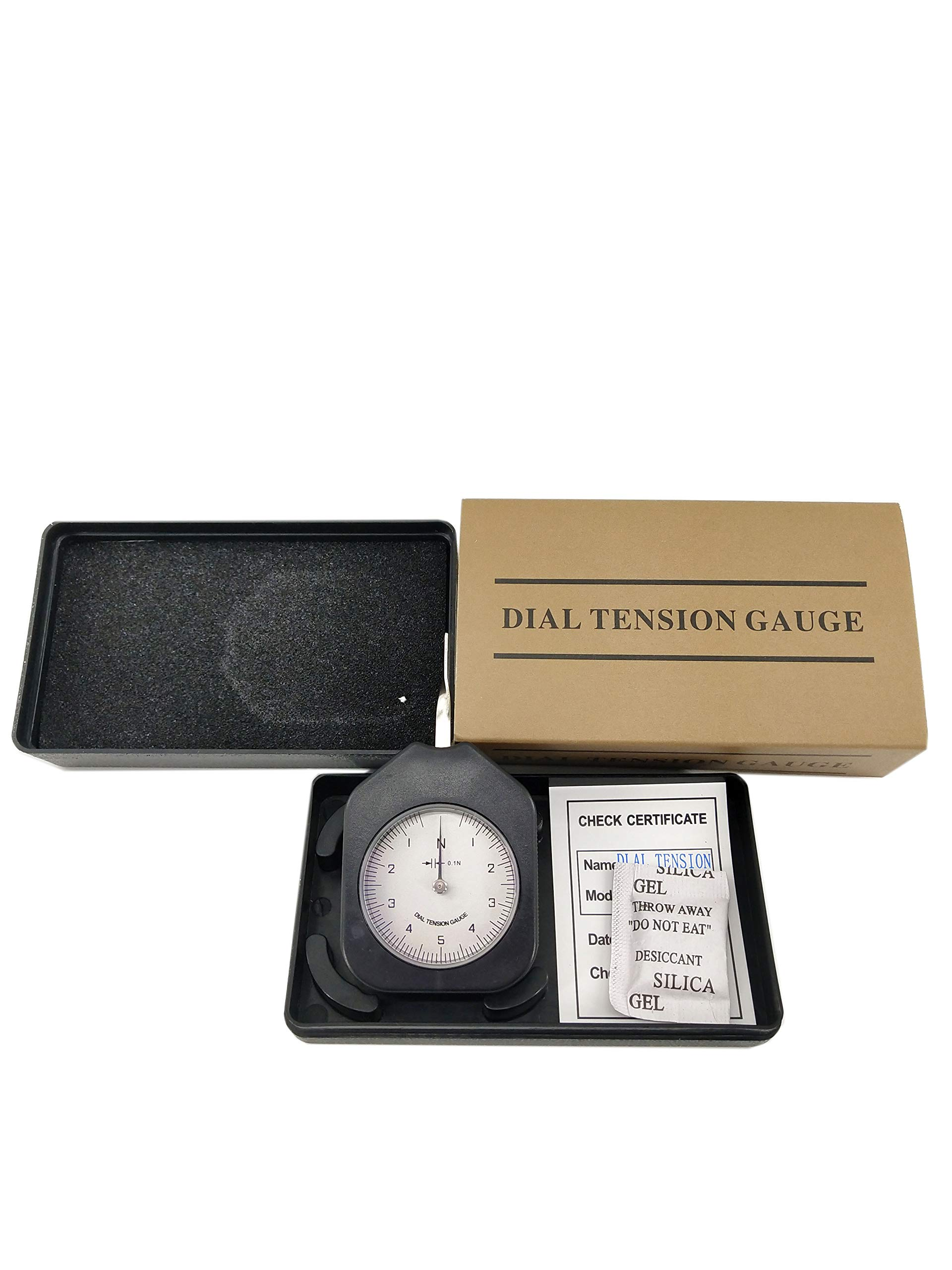 HFBTE ATN-5-1 Single Pointer Dial Tension Gauge Tensionmeter with 1-5-1N Measurement Range by HFBTE
