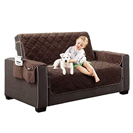 Amazon.com  Home Dynamix Plush Love Seat Protector  1a449d007