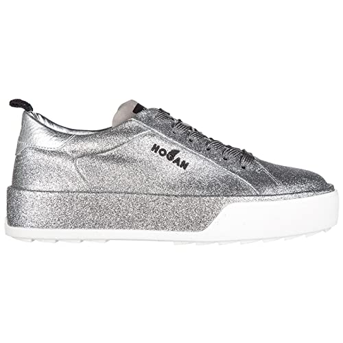 Hogan Rebel Women Sneakers Argento 6.5 UK  Amazon.co.uk  Shoes   Bags f4d70983abf
