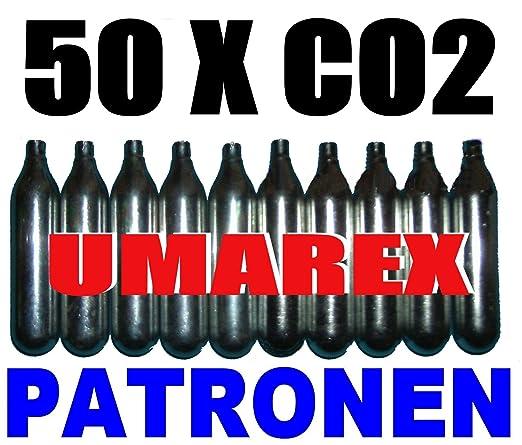 22 opinioni per Set di 50 Capsule di CO2- Ricarica Gas per Proiettili (12g) per Armi Softair,